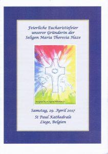 Programm Lüttich Deckblatt